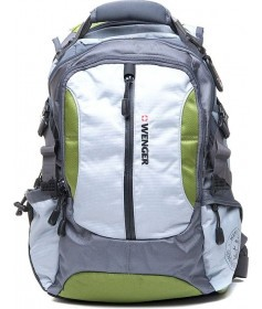 Рюкзак Wenger LARGE VOLUME DAYPACK Серо-зеленый