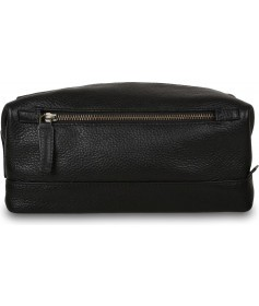 Несессер Ashwood Leather Milo Черный Black